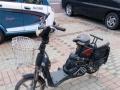 二手电动自行车48伏八成新,配新电池