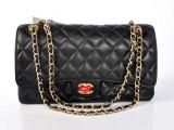 热销品牌女包经典菱格包包 1113 链条包羊皮女包时尚单肩女包批