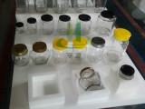 亨源 1斤蜂蜜泡沫盒 500g玻璃瓶 8棱长方瓶 防震包装 定做