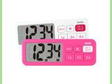 长期供应百利达TD-395 厨房提醒电子计时器 带磁铁2色闹钟定