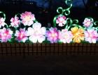 光雕格桑花造型各花朵精致花灯草地草坪装饰