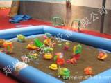 10平方儿童沙滩乐园决明子沙池充气沙滩池广场玩沙玩具