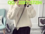 韩版新款针织衫厂家直销秋冬保暖针织打底衫批发市场地摊货源女装
