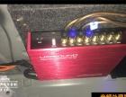 宝马525音响三分频改装方案 功放 处理器 氛围灯 盐城道声