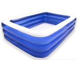 乐亲超大家庭游泳池 儿童宝宝成人充气水池 儿童戏水池 超大