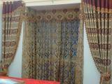 专业制作高档宾馆酒店工程窗帘 设计 安装培训