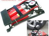 多功能高压双筒脚踏打气筒便携脚踩打气泵 电动车打气筒 厂家直销