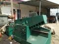 专业出售新旧鳄鱼剪 金属压块机以及各种设备