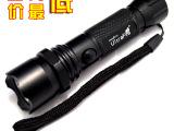 厂家直销LED迷你小不调强光手电筒 家用照明小手电 户外野营装备