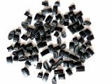 PP再生塑料颗粒 注塑 压板 玩具配件用黑色PP再生料颗粒