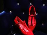 一件代发真皮单鞋女鞋2015新款欧洲站女鞋尖头低跟鞋批发