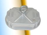 银色方形工矿灯电源盒 压铸铝合金电器箱工矿灯配件