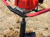 拖拉机带挖坑机 汽油便携式打洞地桩机 植树挖坑机 价格