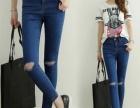 广州牛仔库存供应 低价女T恤便宜T恤 夏季热销服装供应