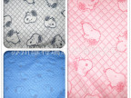 全棉cvc色织大提花空气层双面夹丝布可做婴儿童装厂家直销