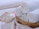 21支單紗毛巾純棉白毛巾一次毛巾