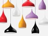 厂家直销现代简约铝材吊灯客厅灯餐厅灯单头吧台灯创意三头餐吊灯