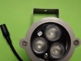 监控3灯红外补光灯 红外辅助灯 850NM补光灯 红外线灯 摄像