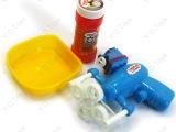 批发托马斯火车头电动泡泡枪玩具 配一槽一水 可当迷尔小风扇0.2
