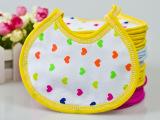 厂家直销宝宝围嘴围兜口水巾全棉婴儿纯棉双面饭兜新生儿童嘴巾