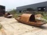 休闲木船 观光木船 仿古木船 乌篷船