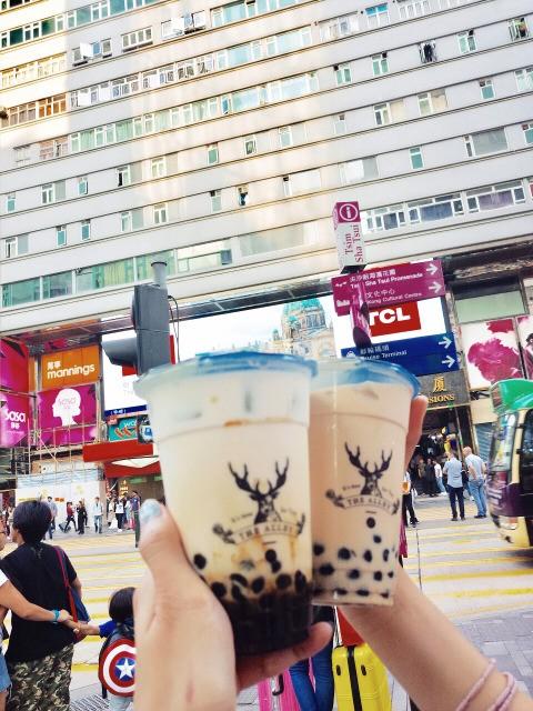 The Alley鹿角巷,网红奶茶,网红人流量
