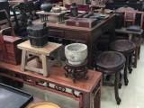 上海徐汇区老桌子回收 上海老红木茶几回收 老柚木家具收购