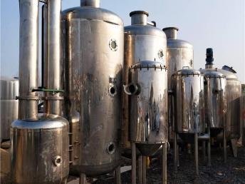 回收二手多效蒸发器-浓缩蒸发器价格