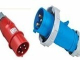 380V工业插头 防水连接器 工业插座 欧标防水插头插座
