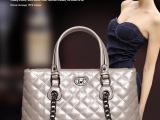 2014小香风欧美时尚菱格链条包包 经典系列