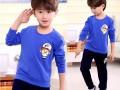 济南最便宜儿童服装批发厂家供应新款秋冬热销儿童卫衣打底衫批发