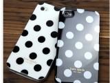 Kate Spade iPhone4 波点外壳 手机套 纽约圆点硅胶保护套 手机