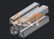常州地区专业生产优良的45系列铝型材——4590铝型材