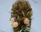 一场唯美的婚礼作为女主的新娘当然要选择一款时尚的发型设计