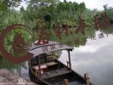 古镇木船专业定制精致款仿古木船