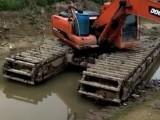 乌兰察布化德水陆挖掘机租赁出租