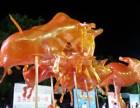 广州特色传统民间手工艺吹糖人表演