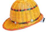 竹编安全帽 夏季透气安全帽工地竹子帽子骑车安全帽防护帽漂流帽