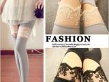 2013日韩女装 性感花网笑脸打底裤 大腿蕾丝开口笑拼接显瘦九分