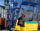 仓库窄道专用电动堆高机 全电动货架二手叉车
