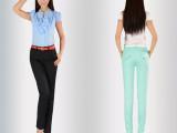 新款秋季女装 宽松新款雪纺哈伦裤 韩版潮休闲长裤 一件代发批发