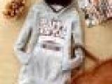 2013新冬款韩版卫衣棒球服卡通纯棉外套开衫女长款韩版卫衣低价清