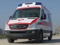 河池长途救护车出租配有呼吸机救护车