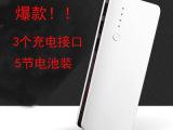 厂家直销新款 三个USB输出口 通用型移动电源 可定制各种LOG