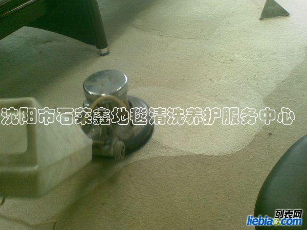 沈阳市石莱鑫地毯清洗养护服务中心专做地毯清洗免费清洗打样