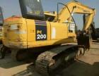 二手挖掘机小松200-7低价出售 包运