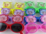 2014喜羊羊 儿童眼镜 带镜片卡通眼镜 小孩超萌夏日防晒护眼眼