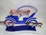 亚克力面板、老爷车眼镜展示道具、眼镜展示