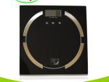 恒杰黑色精准电子称体重计测脂肪秤健康人体电子体重秤最大180kg