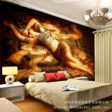 大型壁画欧式油画墙纸 个性宾馆酒店背景墙